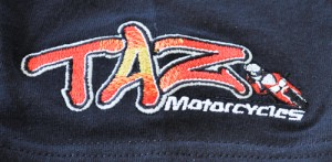Taz Motorcycles Embroidery