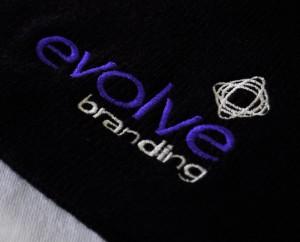 Evolve Branding Logo Embroidery