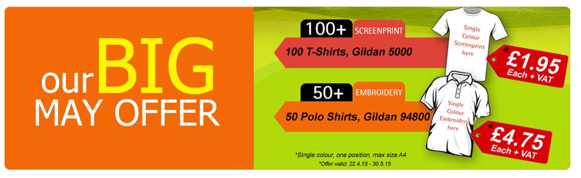 Ou r big may garment decoration offer