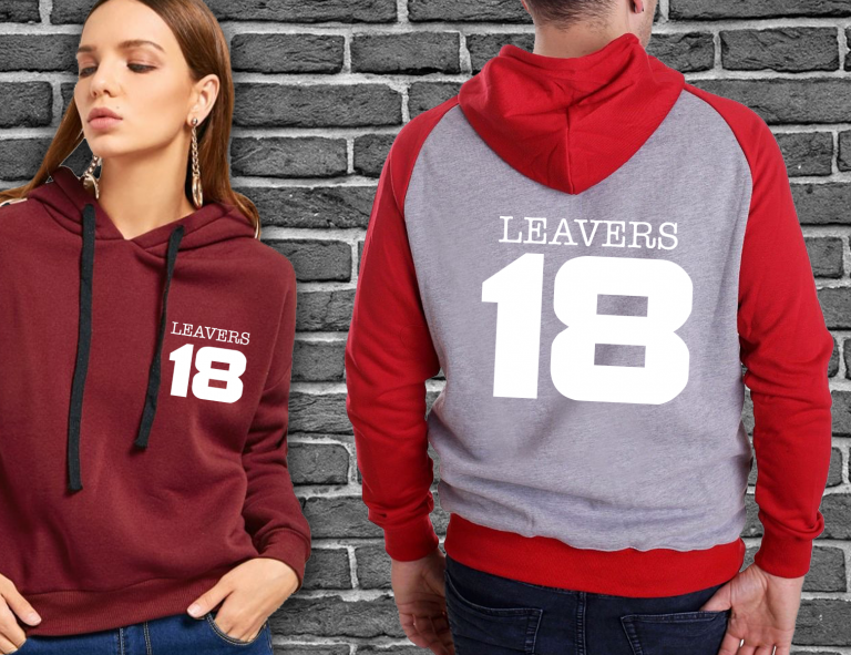 Printed Clothing or Merchandise for Universities & Students